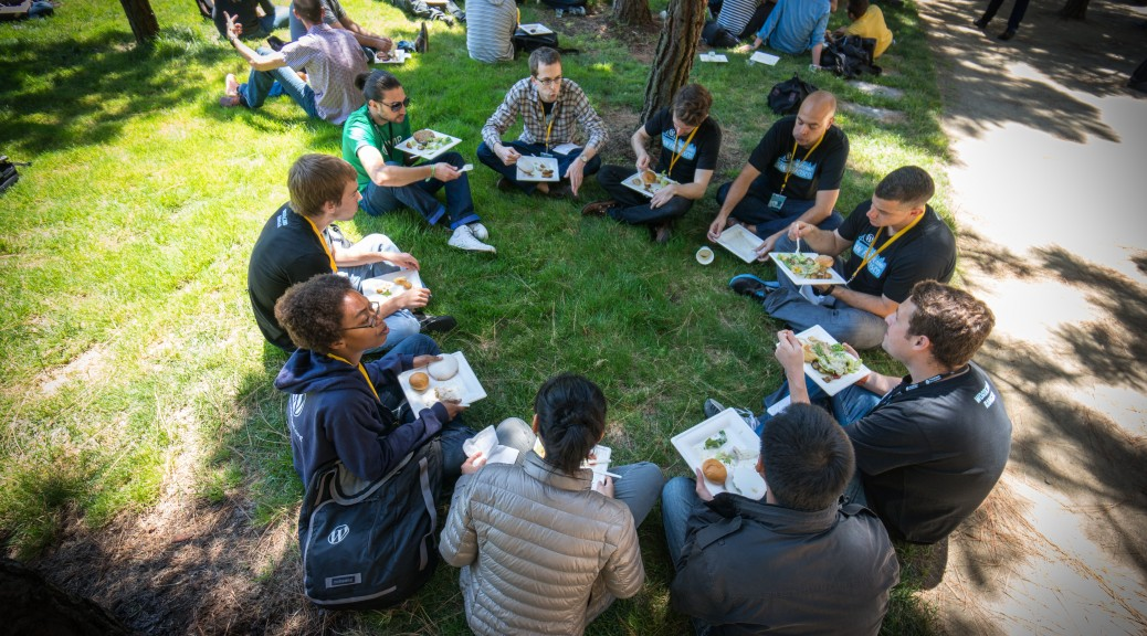 Lunch on the UCSF Lawn